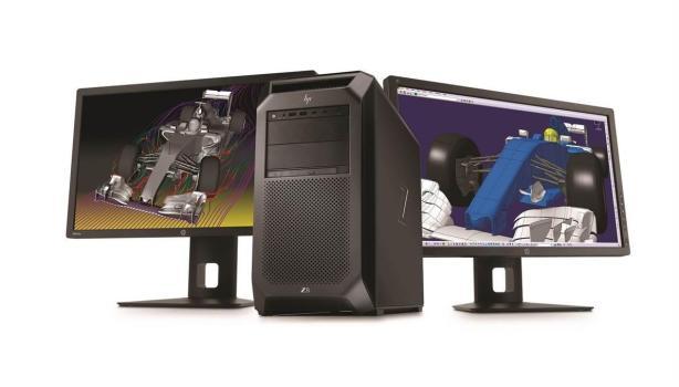 HP Z8 Workstation with dual HP Z27x Displays (3)