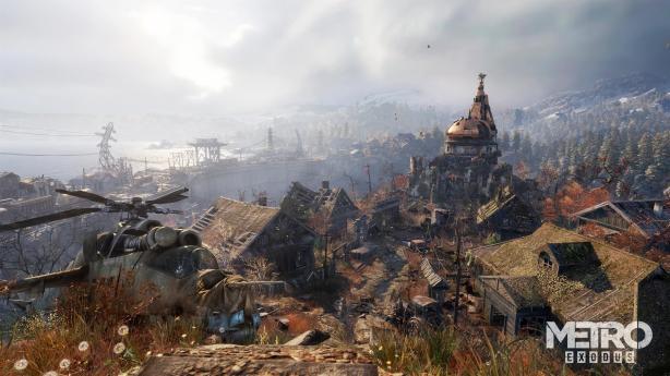 Metro Exodus Town 4K