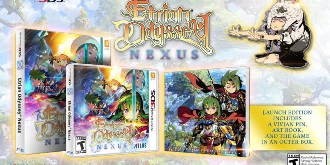 Etrian Odyssey Nexus