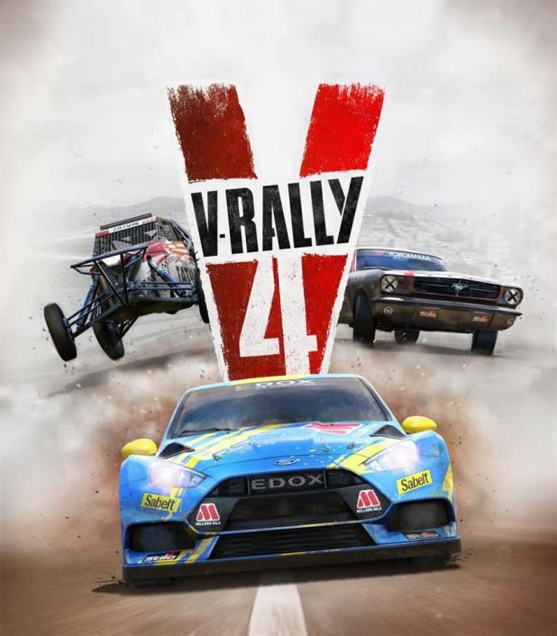 V-Rally 4 - תמונת המשחק מראה את היצע הרכבים שקיים במשחק