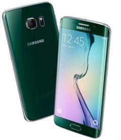 מכשיר ה-Samsung Galaxy S6 Edge בצבע ירוק