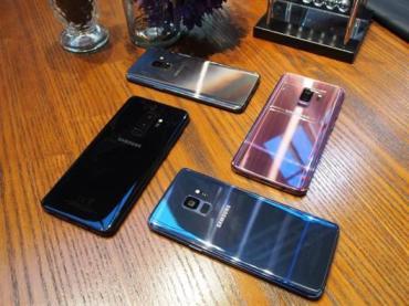 צבעי מכשירי ה-S9