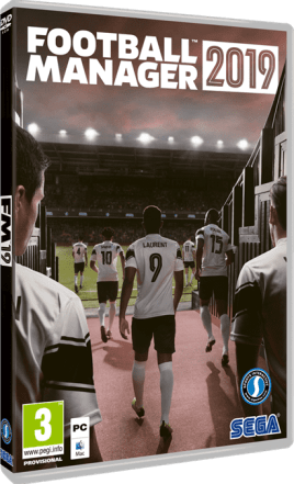 תמונת הדיסק של Football Manager 2019