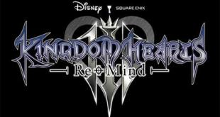 Kingdom Hearts III Re:Mind Logo Small