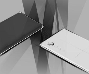 LG VELVET Concept Front & Back