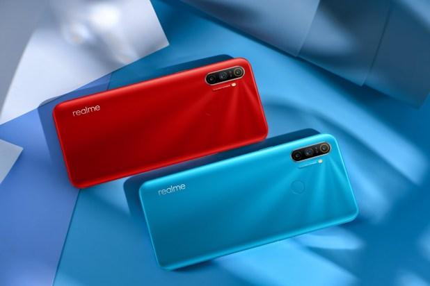 צבעי מכשיר realme c3