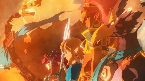 גיבורים Hyrule Warriors: Age of Calamity