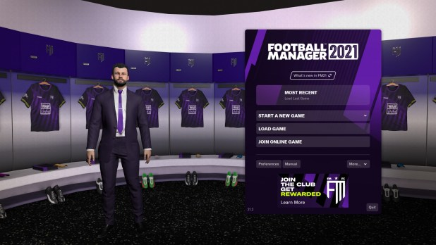 Football Manager 2021 מעוצב אחרת משאר משחקי הסדרה