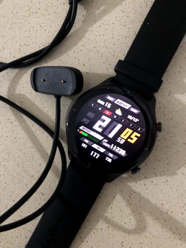 סוללה עוצמית תדרוש ממכם להטעין את ה-Amazfit GTR2 פעם בשבועים