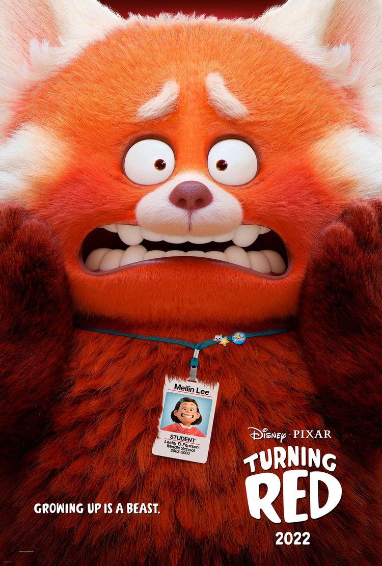 אדומה אש –טריילר לסרט החדש של Pixar