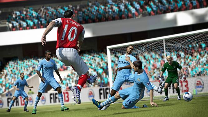 FIFA 13 is a leader in the German games charts.  No other computer and video game has sold better, according to media control.
