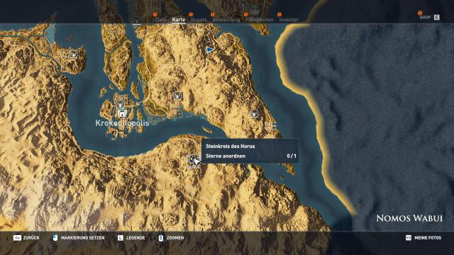 Assassins Creed Origins Komplettlsung Locations Guide