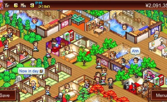 Kairosoft Auf Switch Game Dev Story Hot Springs Story