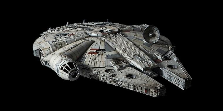 Star Wars Bandai Verffentlicht Millennium Falke Im