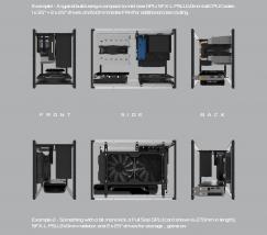 Streacom DA2: Mini-ITX-Gehäuse mit verstellbaren