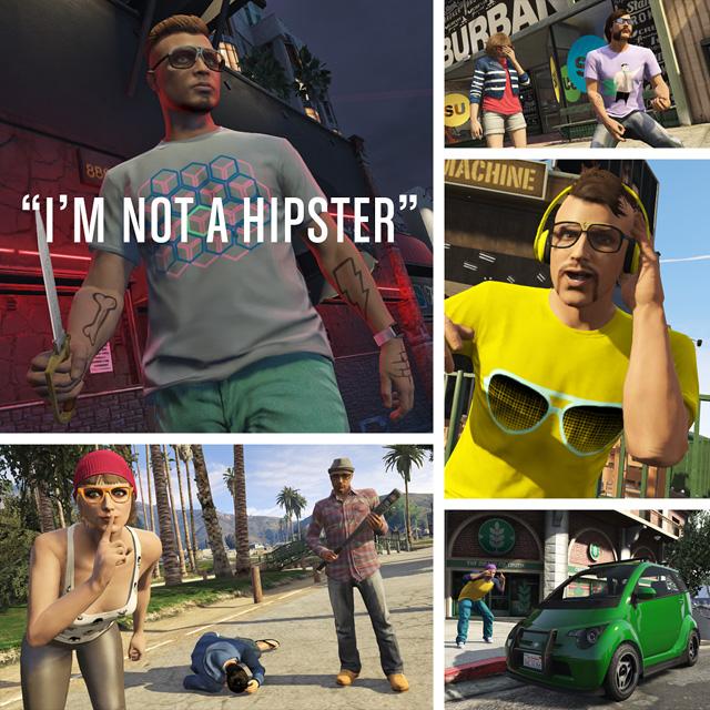 """GTA 5 Online """"Kein Hipster"""" Update Bringt Jeans Tattoos Frisuren"""