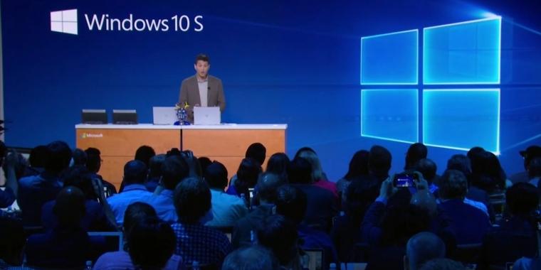 Windows 10 S ist ein stark eingeschränktes Windows.