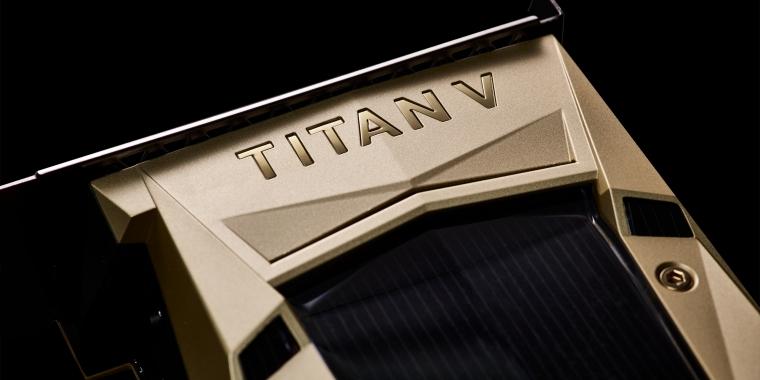 Die goldene Titan V kostet 3.000 US-Dollar.