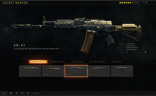 All Blackout Weapons The Best Guns For Call Of Duty