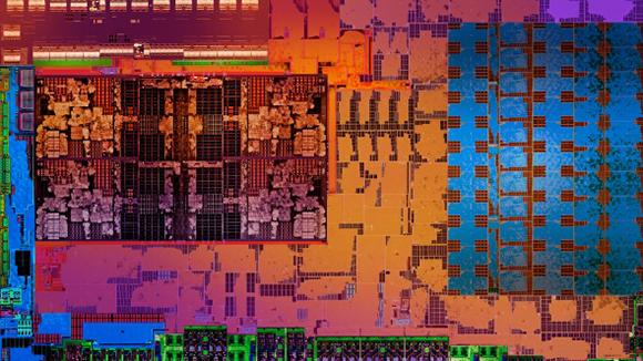 AMD Ryzen processor with Radeon Vega Graphics Die Shot