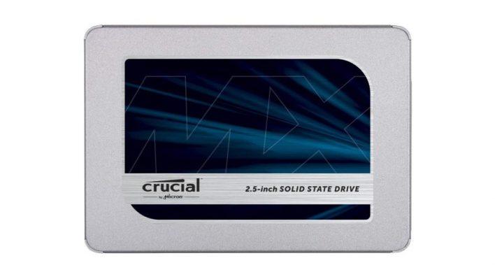 Meilleur SSD pour les jeux - Crucial MX500