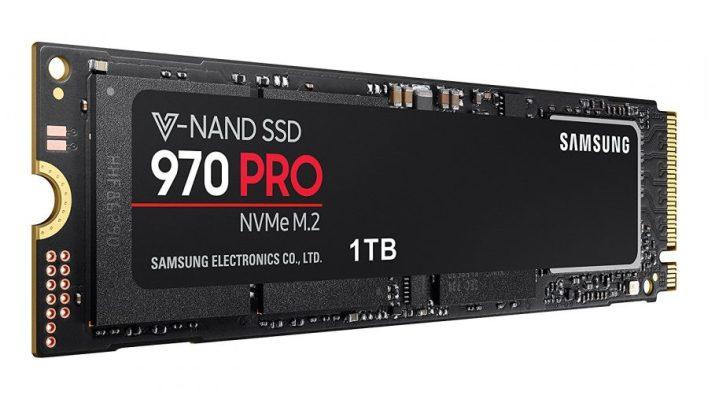 Meilleur SSD haut de gamme pour les jeux - Samsung 970 Pro 1 To