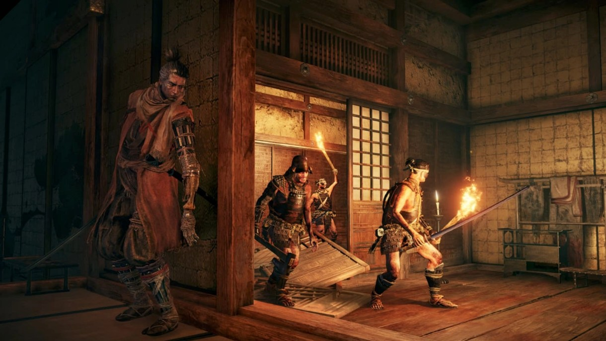 نتيجة بحث الصور عن sekiro shadows die twice gameplay