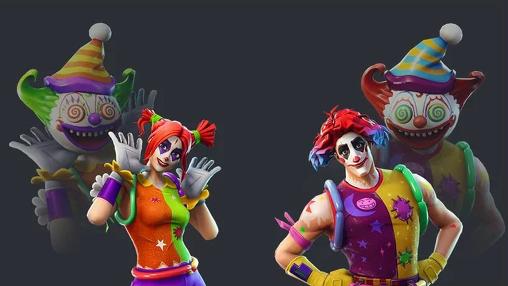 New Fortnite Skins Leaked Hideous Clowns Are Coming To The Item