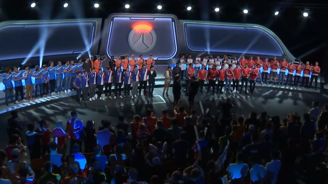 Here are the eight qualifying teams for BlizzCons
