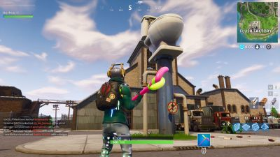 Fortnite: where to dance on top of a Clock Tower, Pink ...