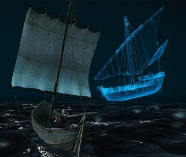 Did You Know Theres A Ghost Ship In The Witcher 3