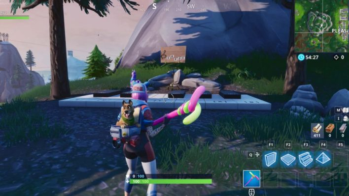 Fortnite Pleasant Park Piano Location Where To Play Sheet