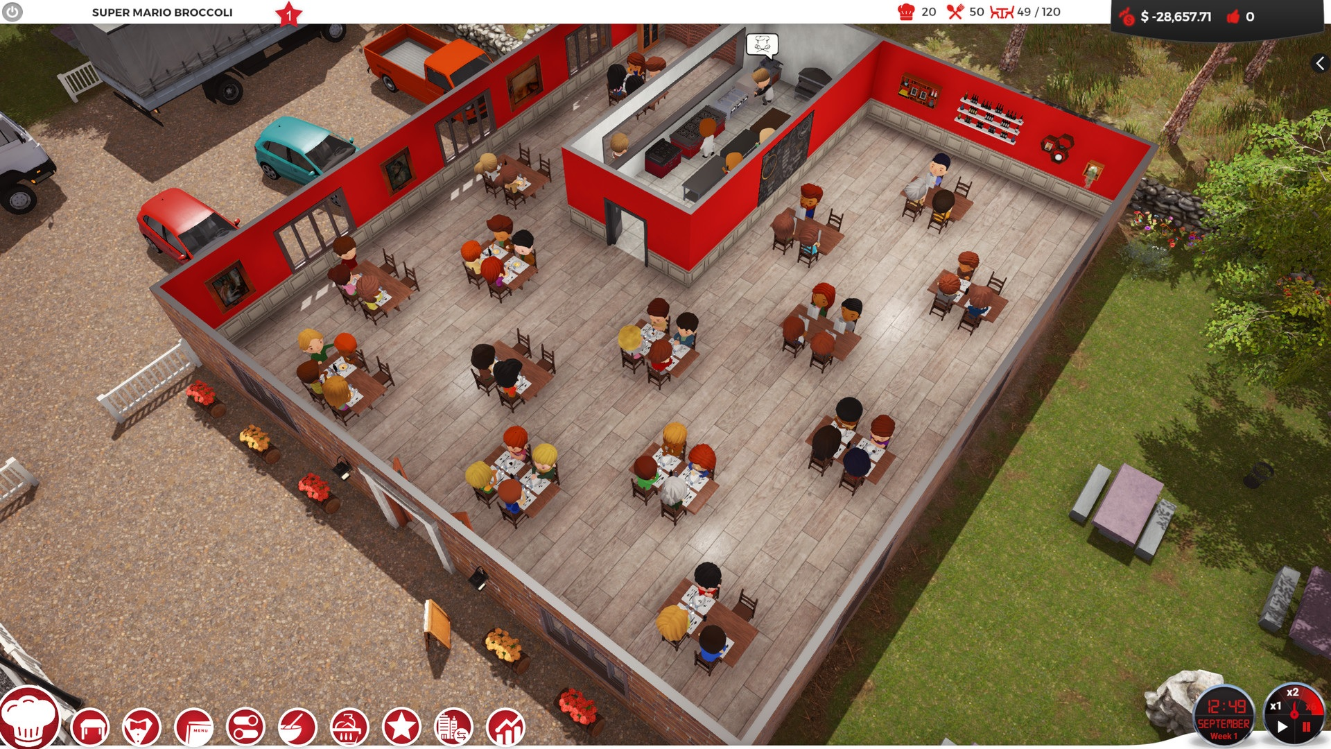 Your Own Restaurant Games