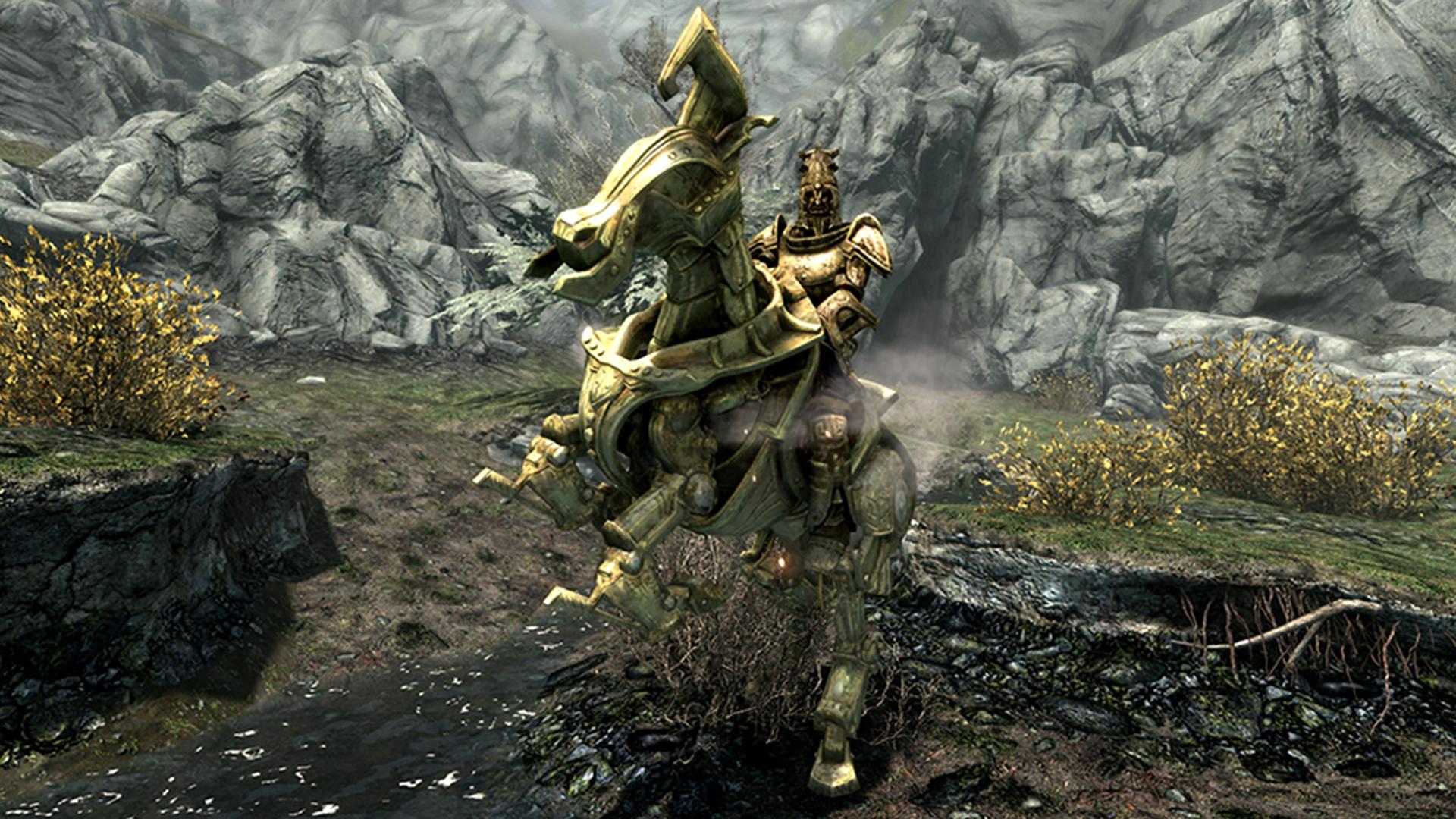 Light Skyrim Armor Dwarven