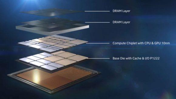 Intel Lakefield layers