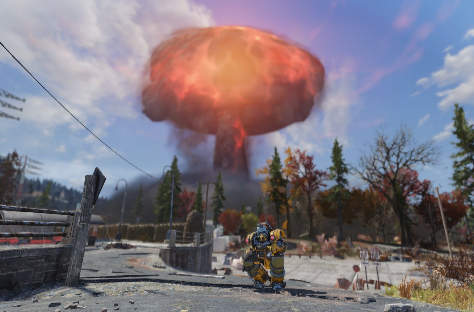 Fallout 76s latest bug gets nukes removed from the game