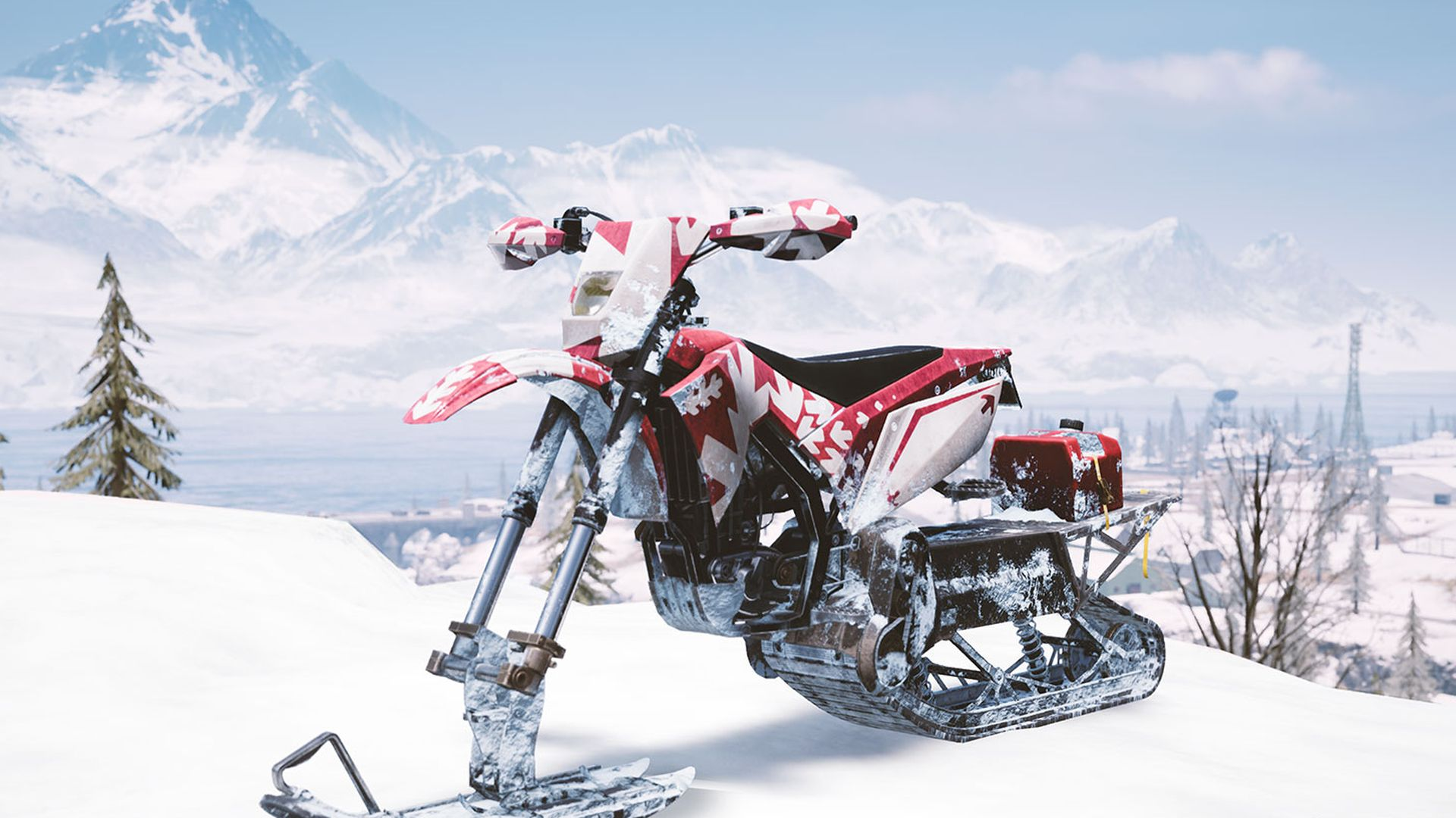 PUBG Adds Snowbikes And A Moonlit Night Time Mode PCGamesN