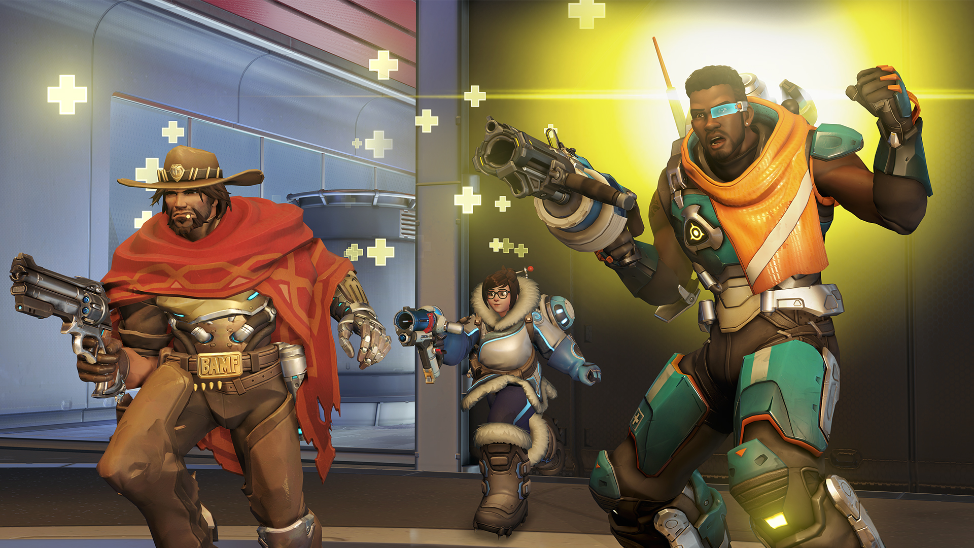Overwatch Patch Notes V134 Baptiste Makes His Debut PCGamesN