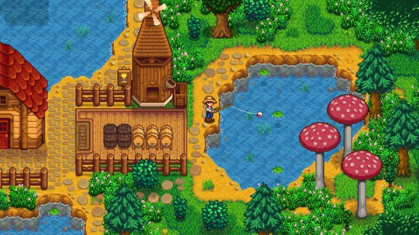 Stardew Valley Farm Map Mod - Year of Clean Water