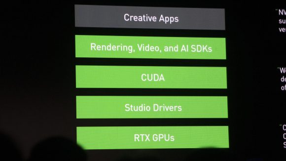 Nvidia Studio laptop functionality