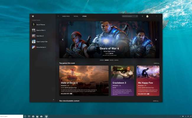 Xbox S New Pc App Has Appeared On The Microsoft Store And