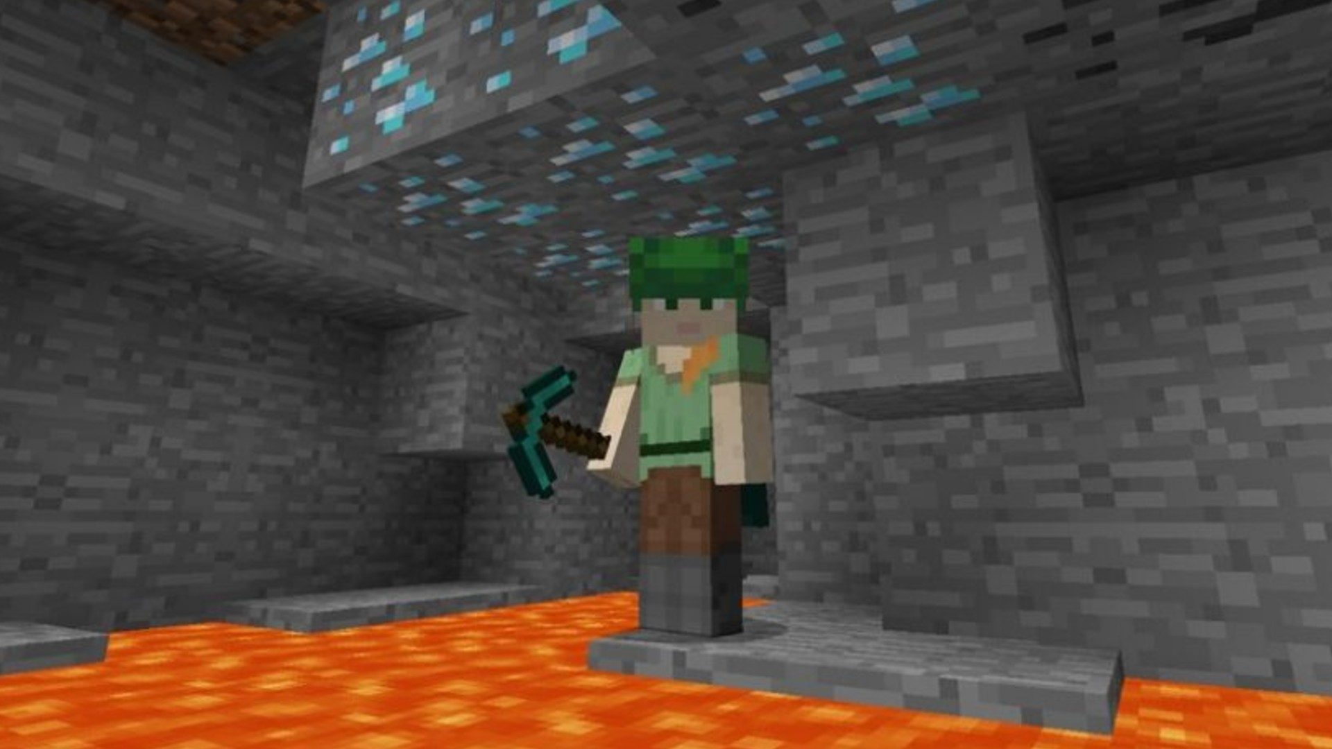Minecraft diamond crystal and the diploma to seek out Minecraft