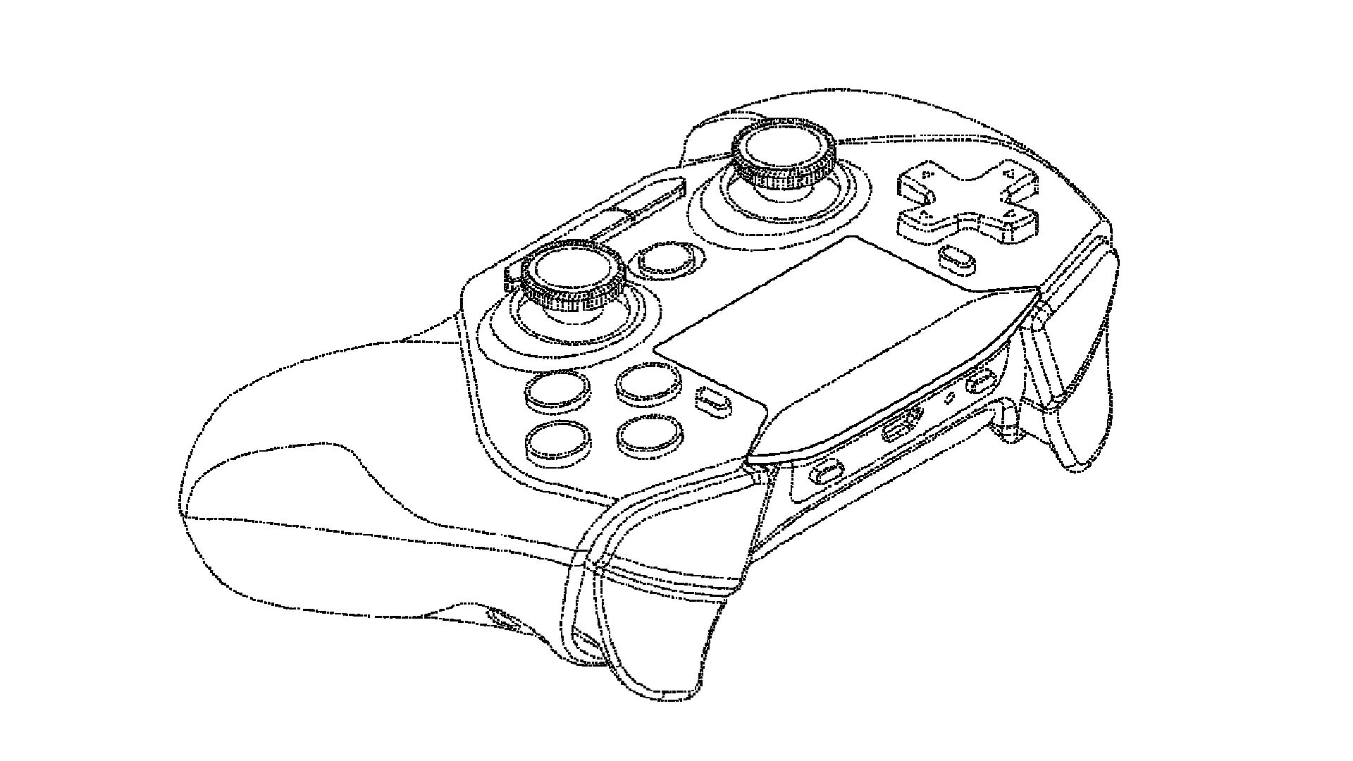 Intel patents Sony Dualshock-style gamepad likely fit for