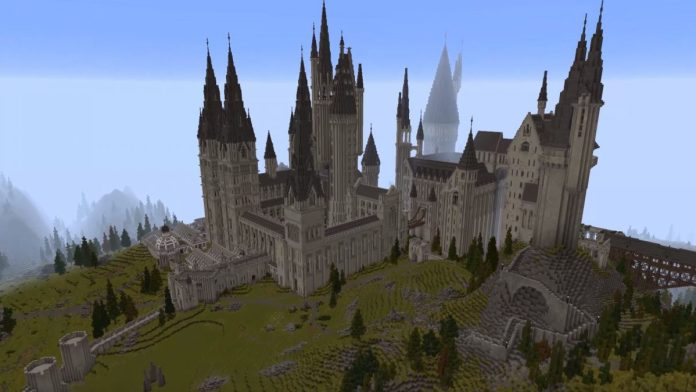 Image result for Minecraft School of Witchcraft and Wizardry - Gameplay Trailer