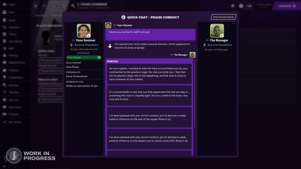 Football Manager 21 will let you hurl a water bottle in the locker room | PCGamesN