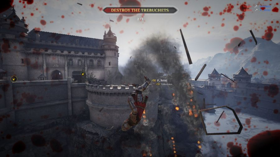 Chivalry 2 review - explosion