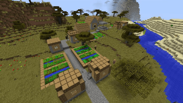 Minecraft seed 686298914