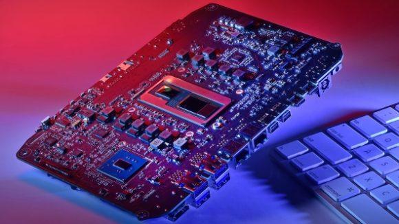 Intel Hades Canyon NUC motherboard