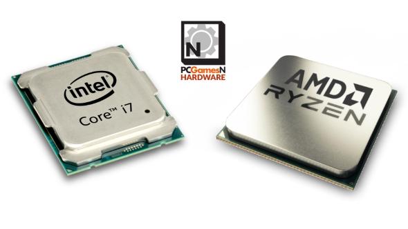 bentuk prosesor intel dan amd