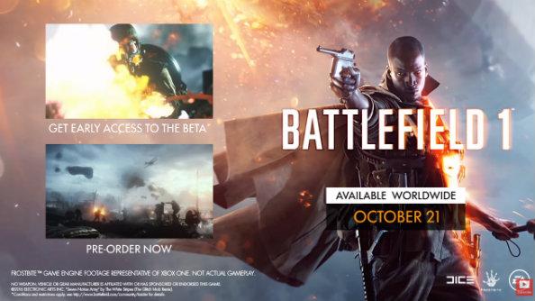 battlefield 1 release date
